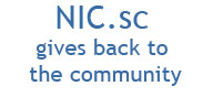 NIC.sc gives back to the community