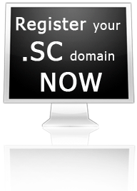 Register your .SC domain NOW